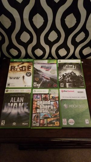 Xbox 360 games for Sale in Portland, TX