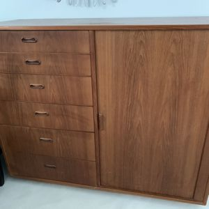 Mid Century Modern Gentlemen's Chest by Falster Made In Denmark Missing Drawers. for Sale in Jupiter, FL