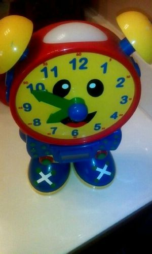 Kids Talking Learning Clock w/ light for Sale in Charlotte, NC