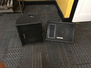Set of Kustom KPC12M party speakers for Sale in Euclid, OH
