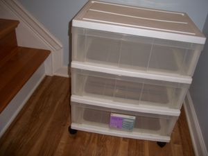 3 drawer plastic storage bin for Sale in Severn, MD