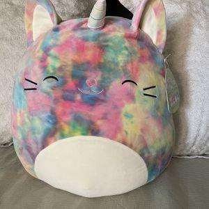 """Squishmallows 16"""" Plush Rainbow Caticom for Sale in Evergreen Park, IL"""