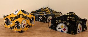 NFL Steelers Team handmade Masks face Covering for Sale in Hyattsville, MD
