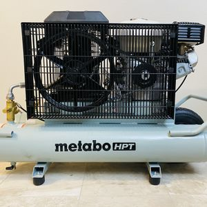 Metabo 8-Gallon Portable Horizontal Air Compressor for Sale in Everett, WA