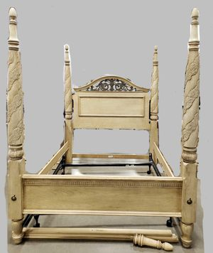 Queen bed frame and dresser combo by Lexington for Sale in Scottsdale, AZ