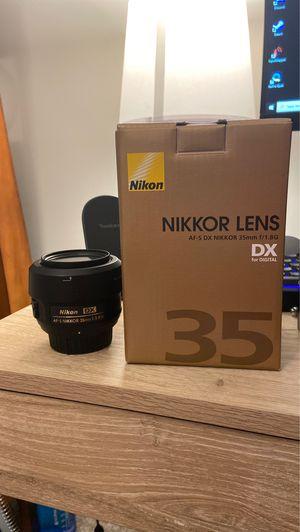 35mm AF-S Nikkor 1.8G for Sale in Powell, TN