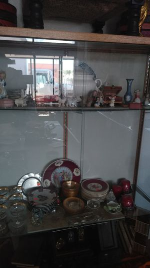 China, angles, elephants ect in glass and other antiques for Sale in Albuquerque, NM