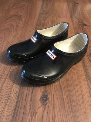 Hunter Boot Original Rain Clog/Shoe Black Size 6 for Sale in Washington, DC