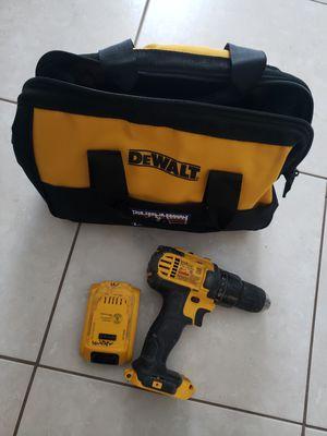 Dewalt Drill, battery, bag for Sale in Phoenix, AZ
