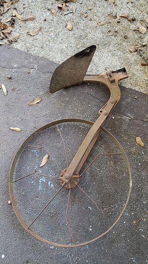 Antique plow wheel for Sale in Bastrop, LA