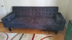 Mid Century Microfiber Tufted Futon Sofa Bed for Sale in Silver Spring, MD