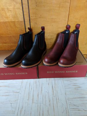 Red Wing Chelsea Boots Size 8.5(blk) and 8(brown) for Sale in New York, NY