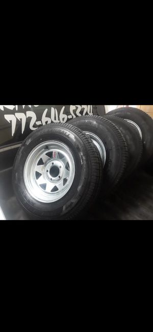 New trailer tires or wheels. Available 24/7 for Sale in Fort Pierce, FL