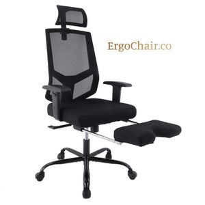 Amazing Ergonomic Mesh Computer Office Chair with Adjustable Armrest/Headrest and Footrest for Sale in Kent, WA