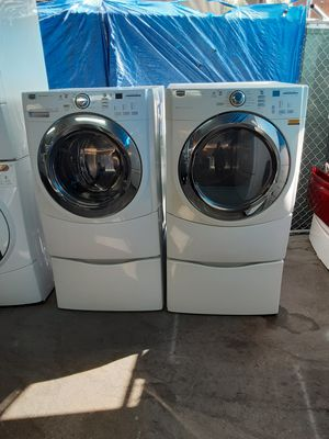 $699 Maytag washer dryer set includes delivery in the San Fernando Valley a warranty and installation for Sale in Los Angeles, CA