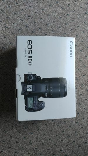 Canon 80D body only for Sale in Manchester, MO