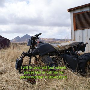I am looking for broken down four wheeler to fix up for Sale in Pleasant Grove, UT