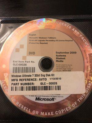 Windows 7 Ultimate upgrade for Sale in Seattle, WA