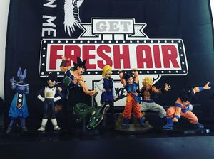 Dragon Ball Figurines Collection (DBZ) for Sale in Tallahassee, FL