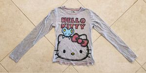 Girl's Hello Kitty Long Sleeve Shirt Size XL (14/16) Gray for Sale in Land O Lakes, FL