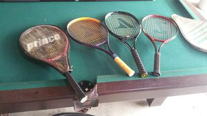 Tennis rackets, different manufacturers, all in great shape for Sale in Phoenix, AZ