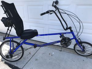 Bicycle- recumbent for Sale in New Lenox, IL