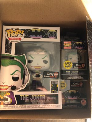 Regular Joker Gamer funko pop for Sale in Victoria, TX