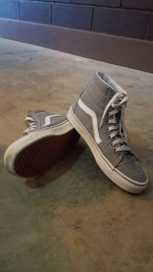 Gray Vans Size 7.5 for Sale in Boiling Springs, SC