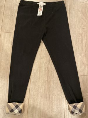 Burberry leggings for 8 y girl for Sale in Burbank, CA