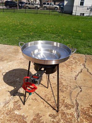 Disco hondo de acero inoxidable para enchiladas,tacos dorados,etc for Sale in Aurora, IL
