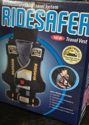 Child Car Seat/ Ride Safer Travel Vest 👶 for Sale in Houston, TX
