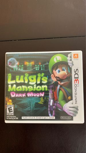 Luigi's mansion dark moon for Sale in Corona, CA