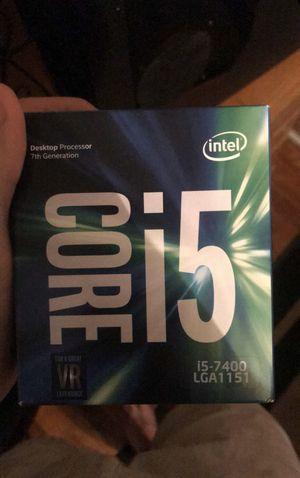 Intel i5-7400k 7th gen for Sale in Myrtle Beach, SC