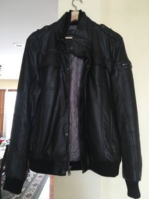 Calvinklein leather jacket (Small) for Sale in Herndon, VA