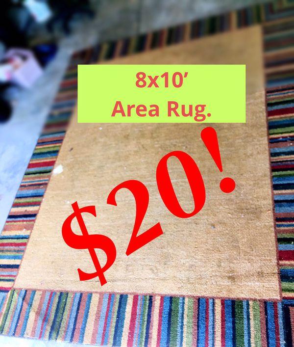Area Rug 8x10'