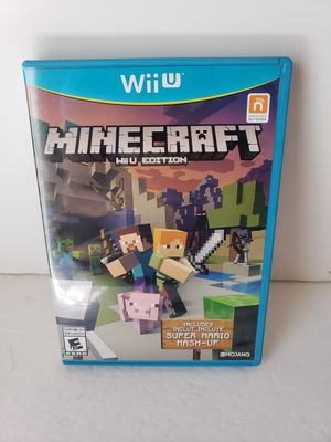 Nintendo wii u minecraft game for Sale in Peoria, AZ