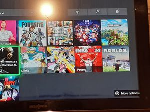 Xbox one in perfect conditon,xbone game pass comes with games,control for Sale in Los Angeles, CA