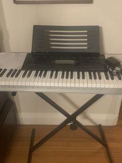 Casio Keyboard - Great Starter Piano for Sale in Verona,  NJ