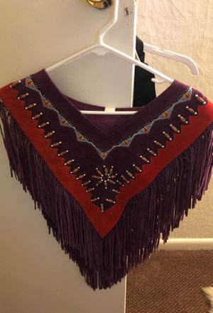 Handmade leather vest for Sale in Glendale, CO