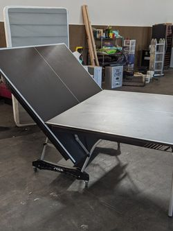 Like New Foldable Ping Pong Table On Casters for Sale in Yakima,  WA