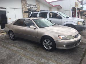 Lexus es300 3950 1500 down no credit check no drivers license needed no paystubbs needed for Sale in San Antonio, TX