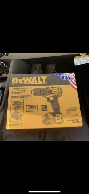 Dewalt compact drill/driver kit brand new for Sale in Lawrence, MA