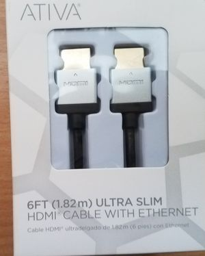 6Ft. HDMI Cable for Sale in BETHEL, WA