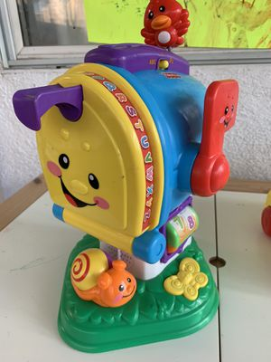 Fisher Price Laugh & Learning Letters Mailbox for Sale in Chino Hills, CA