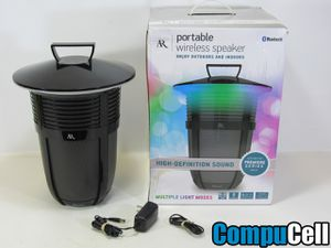Acoustic Research Santa Clara Bluetooth Wireless Outdoor Speaker - Black ( 30 DAYS WARRANTY ) for Sale in Fontana, CA