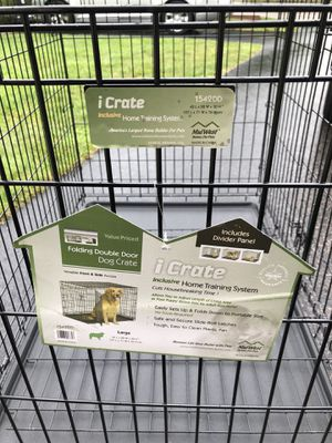 Large dog crate for Sale in Auburn, MA