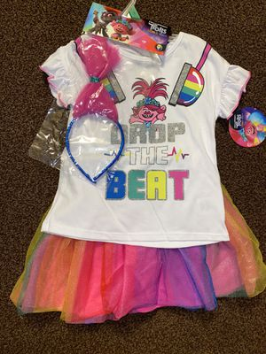 Trolls girls tutu set for Sale in Spring Valley, CA