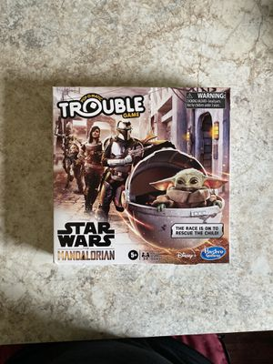 Star Wars The Mandalorian - Pop o Matic Trouble Game for Sale in Salem, OH