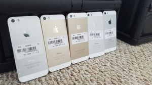 Unlocked iPhone 5s 16GB wholesale lot of 5 great Condition for Sale in North Miami Beach, FL