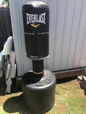Everlasting exercise punching bag for Sale in Murrieta, CA